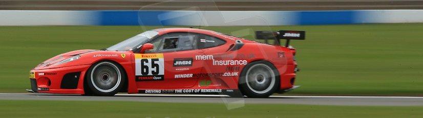 World © Octane Photographic Ltd. Donington Park General un-silenced test 25th April 2013. Pirelli Ferrari Open, Winder. Digital Ref : 0641cb1d5283