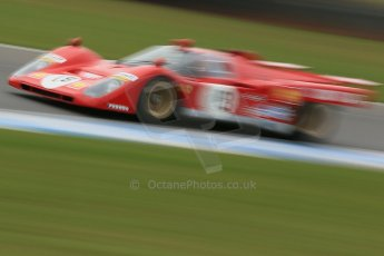 World © Octane Photographic Ltd. Donington Park General un-silenced test 25th April 2013. Ex-Ickx/Giunti Ferrari 512B. Digital Ref : 0641cb1d5555