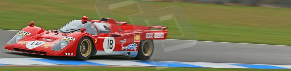 World © Octane Photographic Ltd. Donington Park General un-silenced test 25th April 2013. Ex-Ickx/Giunti Ferrari 512B. Digital Ref : 0641cb1d5688