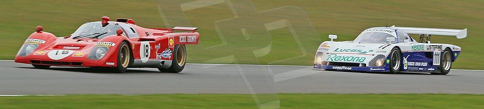 World © Octane Photographic Ltd. Donington Park General un-silenced test 25th April 2013. Ex-Ickx/Giunti Ferrari 512B. Digital Ref : 0641cb1d5696