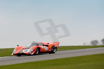 World © Octane Photographic Ltd/Chris Enion. Donington Park General un-silenced test 25th April 2013. Team Tiger Lola T70 Mk IIIB.Digital Ref : 0641ce1d2460