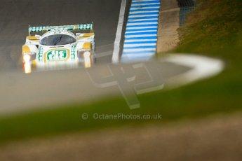 """World © Octane Photographic Ltd/Chris Enion. Donington Park General un-silenced test 25th April 2013. Henrik Linberg - Porsche 962C Dauer Racing """"Tic Tac"""" - Group C (Gp.C) Racing. Digital Ref : 0641ce7d6924"""