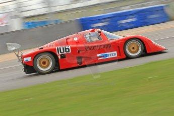 World © Octane Photographic Ltd. Donington Park General un-silenced testing, April 30th 2013. Tiga GC288 - Scott Couper. Group C (Gp.C) Racing. Digital Ref : 0643cb7d7572