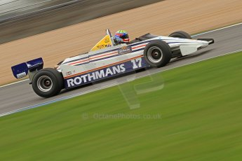 World © Octane Photographic Ltd. Donington Park General un-silenced testing, April 30th 2013. March 821 - Rothmans - Mark Dwyer, Historic F1. Digital Ref : 0643cb7d7703