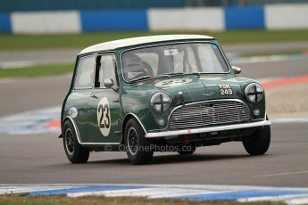 World © Octane Photographic Ltd. Donington Park General un-silenced testing, April 30th 2013. Austin Mini Cooper S - Jonathan Proctor. Digital Ref : 0643cb7d9759