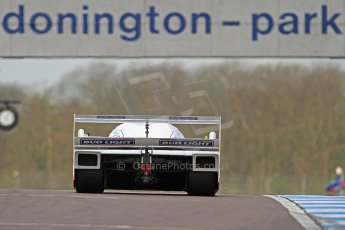 World © Octane Photographic Ltd. Donington Park General un-silenced testing, April 30th 2013. Jaguar XJR16 - Richard Eyre. Group C (Gp.C) Racing. Digital Ref : 0643cb7d9788