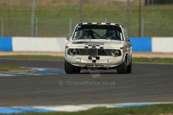World © Octane Photographic Ltd. Donington Park General un-silenced testing, April 30th 2013. BMW 1800Ti Peter James/Paul Taft. Digital Ref : 0643lw1d6371