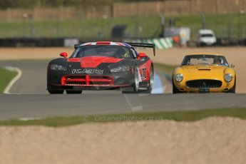 World © Octane Photographic Ltd. Donington Park General un-silenced testing, April 30th 2013. Aaron Scott/Craig Wilkins - ABG Motorsport Dodge Viper Competition and Jackie Oliver/Gary Pearson - Ferrari 250SWB. Digital Ref : 0643lw1d6659