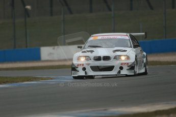 World © Octane Photographic Ltd. General unsilenced testing – Donington Park Thursday 11th April 2013. Britcar MSA British Endurance Championship – Tom Webb/James Webb – BMW M3 GTR – Team Webb. Digital ref : 0630lw1d2128