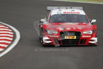World © Octane Photographic Ltd. German Touring Cars (DTM) Brands Hatch Saturday 18th May 2013. Practice.. Phoenix Racing – Audi RS5 DTM – Miguel Molina. Digital Ref: