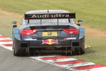 World © Octane Photographic Ltd. German Touring Cars (DTM) Brands Hatch Saturday 18th May 2013. Practice.. Abt Sportsline – Audi RS5 DTM – Jamie Green. Digital Ref: 0680cb7d0341