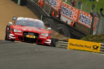 World © Octane Photographic Ltd. German Touring Cars (DTM) Brands Hatch Saturday 18th May 2013. Practice.. Phoenix Racing – Audi RS5 DTM – Miguel Molina. Digital Ref: 0680ce1d1420