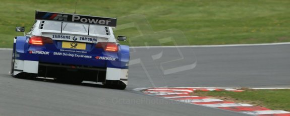 World © Octane Photographic Ltd. German Touring Cars (DTM) Brands Hatch Saturday 18th May 2013. Qualifying. BMW Team Schnitzer – BMW M3 DTM – Dirk Werner. Digital Ref: 0683cb1d5421