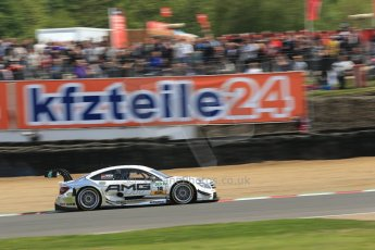 World © Octane Photographic Ltd. German Touring Cars (DTM) Brands Hatch Sunday 19th May 2013. Race. Mucke Motorsport – DTM AMG Mercedes C-Coupe – Pascal Wehrlein. Digital Ref: 0688cb1d6322