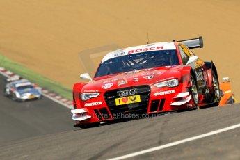 World © Octane Photographic Ltd. German Touring Cars (DTM) Brands Hatch Sunday 19th May 2013. Race. Phoenix Racing – Audi RS5 DTM – Miguel Molina. Digital Ref: 0688ce1d2782