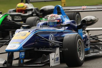 World © Octane Photographic Ltd. FIA European F3 Championship. Friday 17th May 2013. Carlin – Dallara F312 Volkswagen – Nicholas Latifi and URD Rennsport – Dallara F312 Mercedes – Lucas Wolf. Digital Ref :