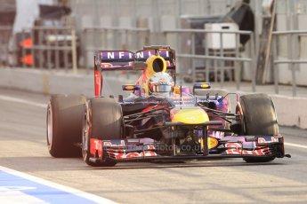 World © Octane Photographic Ltd. Formula 1 Winter testing, Barcelona – Circuit de Catalunya, 19th February 2013. Infiniti Red Bull Racing RB9. Sebastian Vettel. Digital Ref: 0576cb7d8125