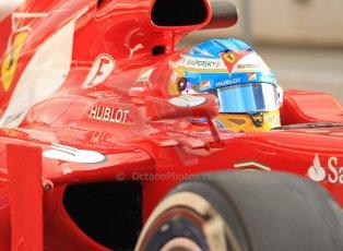 World © Octane Photographic Ltd. Formula 1 Winter testing, Barcelona – Circuit de Catalunya, 19th February 2013. Ferrari F138 – Fernando Alonso. Digital Ref: 0576cb7d8174