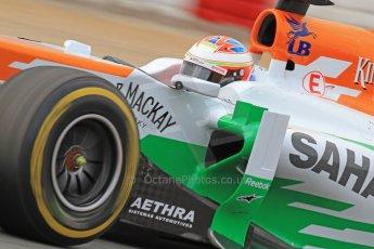 World © Octane Photographic Ltd. Formula 1 Winter testing, Barcelona – Circuit de Catalunya, 19th February 2013. Sahara Force India VJM06 – Paul di Resta. Digital Ref: 0576cb7d8194