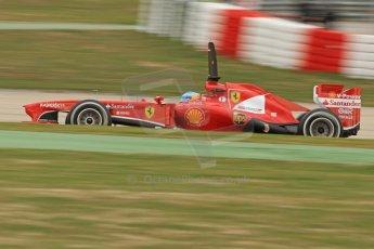 World © Octane Photographic Ltd. Formula 1 Winter testing, Barcelona – Circuit de Catalunya, 19th February 2013. Ferrari F138 – Fernando Alonso. Digital Ref: 0576cb7d8218