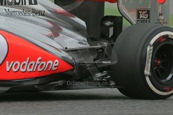 World © Octane Photographic Ltd. Formula 1 Winter testing, Barcelona – Circuit de Catalunya, 19th February 2013. Vodafone McLaren Mercedes MP4/28. Sergio Perez. Digital Ref: 0576lw1d1836