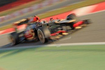 World © Octane Photographic Ltd. Formula 1 Winter testing, Barcelona – Circuit de Catalunya, 20th February 2013. Lotus E31, Kimi Raikkonen. Digital Ref: