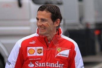 World © Octane Photographic Ltd. Formula 1 Winter testing, Barcelona – Circuit de Catalunya, 21st February 2013. Ferrari - Pedro de la Rosa. Digital Ref: 0578cb7d2579