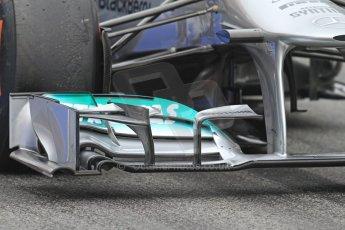 World © Octane Photographic Ltd. Formula 1 Winter testing, Barcelona – Circuit de Catalunya, 21st February 2013. Mercedes AMG Petronas F1 W04, Nico Rosberg. Digital Ref: 0578cb7d8862