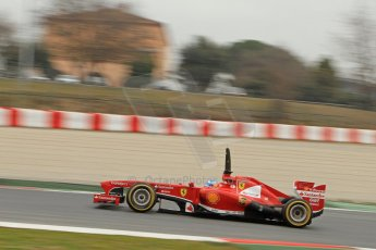 World © Octane Photographic Ltd. Formula 1 Winter testing, Barcelona – Circuit de Catalunya, 21st February 2013. Ferrari F138 - Fernando Alonso. Digital Ref: 0578cb7d9049