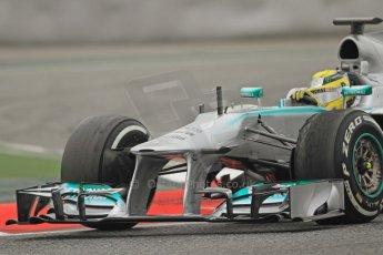 World © Octane Photographic Ltd. Formula 1 Winter testing, Barcelona – Circuit de Catalunya, 21st February 2013. Mercedes AMG Petronas F1 W04, Nico Rosberg. Digital Ref: 0578cb7d9128