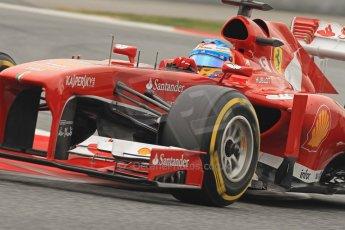 World © Octane Photographic Ltd. Formula 1 Winter testing, Barcelona – Circuit de Catalunya, 21st February 2013. Ferrari F138 - Fernando Alonso. Digital Ref: 0578cb7d9218