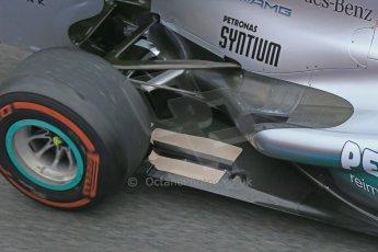 World © Octane Photographic Ltd. Formula 1 Winter testing, Barcelona – Circuit de Catalunya, 21st February 2013. Mercedes AMG Petronas F1 W04, Nico Rosberg. Digital Ref: 0578lw1d2802