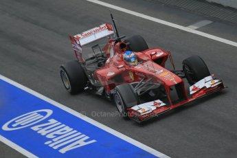 World © Octane Photographic Ltd. Formula 1 Winter testing, Barcelona – Circuit de Catalunya, 21st February 2013. Ferrari F138 - Fernando Alonso. Digital Ref: 0578lw1d2880