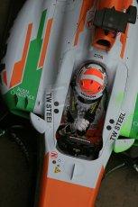 World © Octane Photographic Ltd. Formula 1 Winter testing, Barcelona – Circuit de Catalunya, 21st February 2013. Sahara Force India VJM06 – Adrian Sutil. Digital Ref: 0578lw1d2936