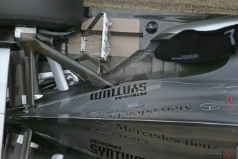 World © Octane Photographic Ltd. Formula 1 Winter testing, Barcelona – Circuit de Catalunya, 21st February 2013. Mercedes AMG Petronas F1 W04, Nico Rosberg. Digital Ref: 0578lw1d2972