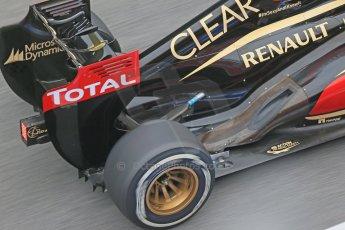 World © Octane Photographic Ltd. Formula 1 Winter testing, Barcelona – Circuit de Catalunya, 21st February 2013. Lotus E31, Romain Grosjean. Digital Ref: 0578lw1d3070