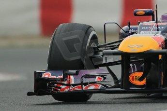 World © Octane Photographic Ltd. Formula 1 Winter testing, Barcelona – Circuit de Catalunya, 21st February 2013. Infiniti Red Bull Racing RB9, Mark Webber. Digital Ref: 0578lw1d3877crop