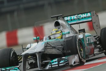 World © Octane Photographic Ltd. Formula 1 Winter testing, Barcelona – Circuit de Catalunya, 21st February 2013. Mercedes AMG Petronas F1 W04, Nico Rosberg. Digital Ref: 0578lw1d3890