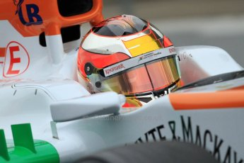 World © Octane Photographic Ltd. Formula 1 Winter testing, Barcelona – Circuit de Catalunya, 22nd February 2013,. Sahara Force India VJM06 – Jules Bianchi. Digital Ref: 0579cb7d9297