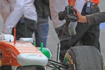 World © Octane Photographic Ltd. Formula 1 Winter testing, Barcelona – Circuit de Catalunya, 22nd February 2013,. Sahara Force India VJM06 – Jules Bianchi. Digital Ref: 0579cb7d93131