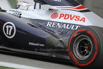 World © Octane Photographic Ltd. Formula 1 Winter testing, Barcelona – Circuit de Catalunya, 22nd February 2013, morning sessions. Williams FW35, Valterri Bottas. Digital Ref: 0579cb7d9476