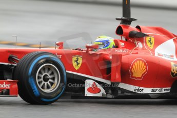 World © Octane Photographic Ltd. Formula 1 Winter testing, Barcelona – Circuit de Catalunya, 22nd February 2013. Ferrari F138 – Felipe Massa. Digital Ref: 0579cb7d9962