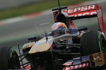 World © Octane Photographic Ltd. Formula 1 Winter testing, Barcelona – Circuit de Catalunya, 22nd February 2013. Toro Rosso STR8, Jean-Eric Vergne. Digital Ref: 0579lw1d4782