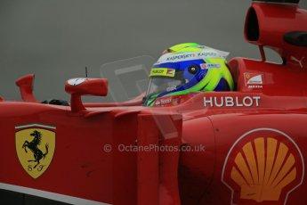 World © Octane Photographic Ltd. Formula 1 Winter testing, Barcelona – Circuit de Catalunya, 22nd February 2013. Ferrari F138 – Felipe Massa. Digital Ref: 0579lw1d4800