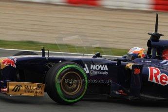 World © Octane Photographic Ltd. Formula 1 Winter testing, Barcelona – Circuit de Catalunya, 22nd February 2013. Toro Rosso STR8, Jean-Eric Vergne. Digital Ref: 0579lw7d9406