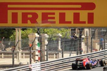 World © Octane Photographic Ltd. F1 Monaco GP, Monte Carlo - Saturday 25th May - Practice 3. Scuderia Toro Rosso STR8 - Jean-Eric Vergne. Digital Ref : 0707cb7d2244