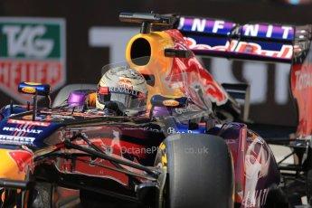 World © Octane Photographic Ltd. F1 Monaco GP, Monte Carlo - Saturday 25th May - Practice 3. Infiniti Red Bull Racing RB9 - Sebastian Vettel. Digital Ref : 0707lw1d9440