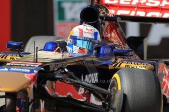 World © Octane Photographic Ltd. F1 Monaco GP, Monte Carlo - Saturday 25th May - Practice 3. Scuderia Toro Rosso STR8 - Jean-Eric Vergne. Digital Ref : 0707lw1d9570