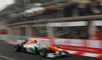 World © Octane Photographic Ltd. F1 Monaco GP, Monte Carlo - Saturday 25th May - Qualifying. Sahara Force India VJM06 - Adrian Sutil. Digital Ref : 0708lw7d8538