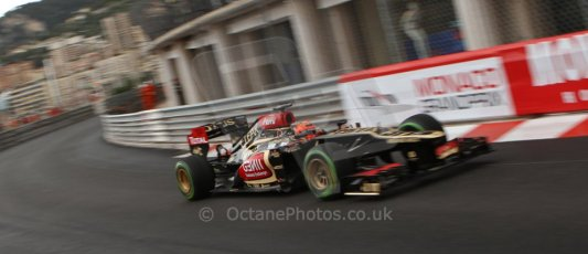 World © Octane Photographic Ltd. F1 Monaco GP, Monte Carlo - Saturday 25th May - Qualifying. Lotus F1 Team E21 - Kimi Raikkonen. Digital Ref : 0708lw7d8609